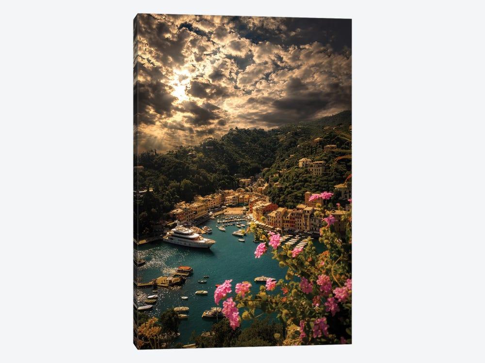 Panorama Of Portofino by Enzo Romano 1-piece Canvas Wall Art