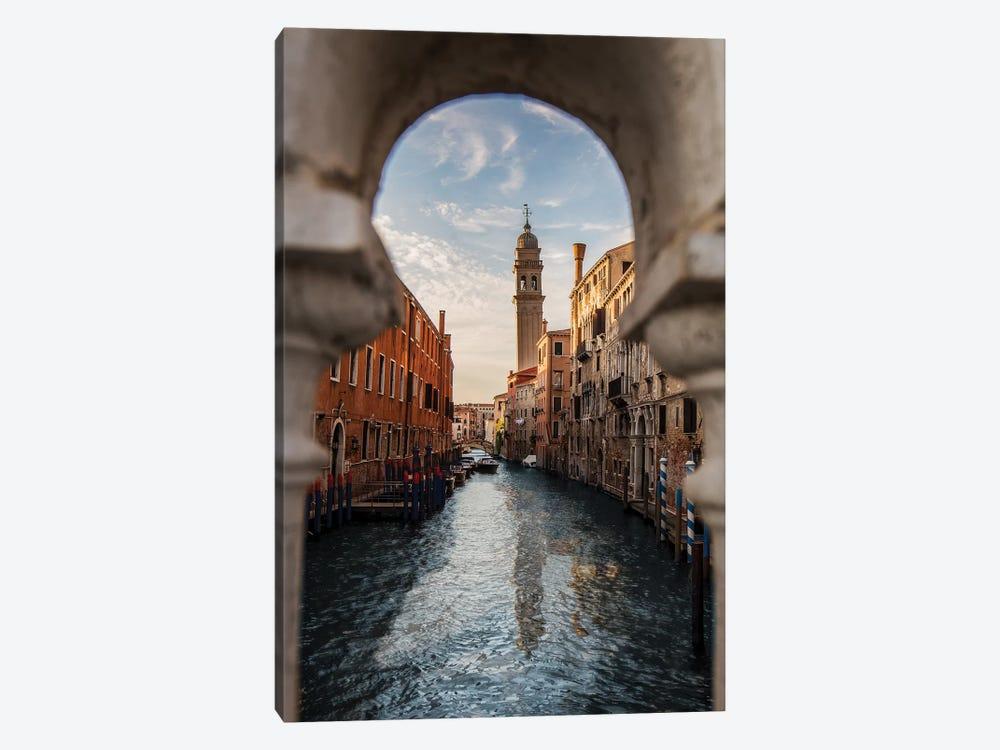 Belltower Of San Giorgio Dei Greci, Venice by Enzo Romano 1-piece Art Print
