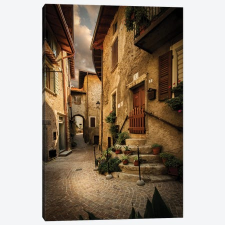 Tremosine II, Lombardy, Italy Canvas Print #ENZ132} by Enzo Romano Canvas Wall Art