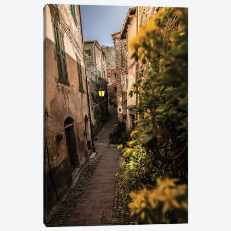 Badalucco, Liguria, Italy Canvas Print #ENZ133} by Enzo Romano Canvas Art