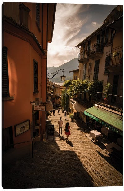 Bellagio, Lake Como, Italy Canvas Art Print