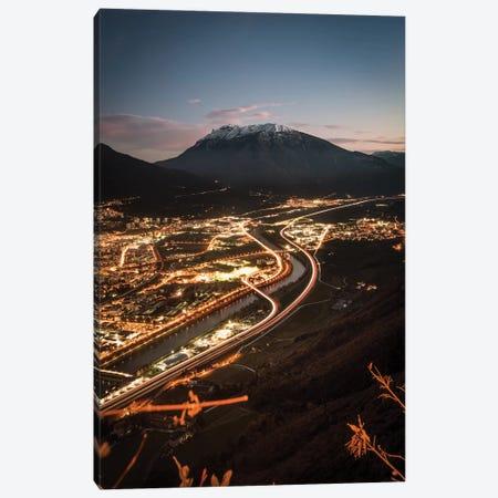 Trento, Trentino-Alto Adige, Italy III 3-Piece Canvas #ENZ141} by Enzo Romano Canvas Print