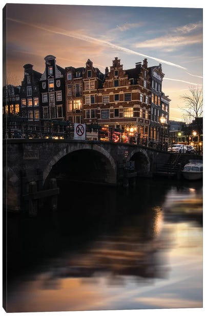 Amsterdam IX Canvas Art Print