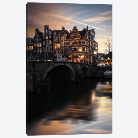 Amsterdam IX Canvas Print #ENZ143} by Enzo Romano Art Print