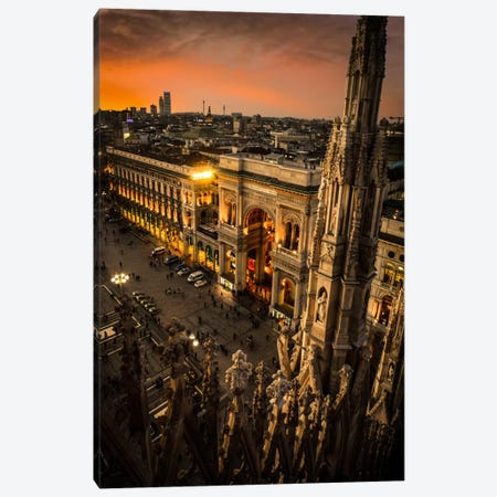 Milano I Canvas Print #ENZ15} by Enzo Romano Canvas Artwork