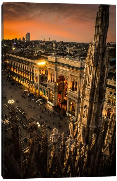 Milano I Canvas Art Print