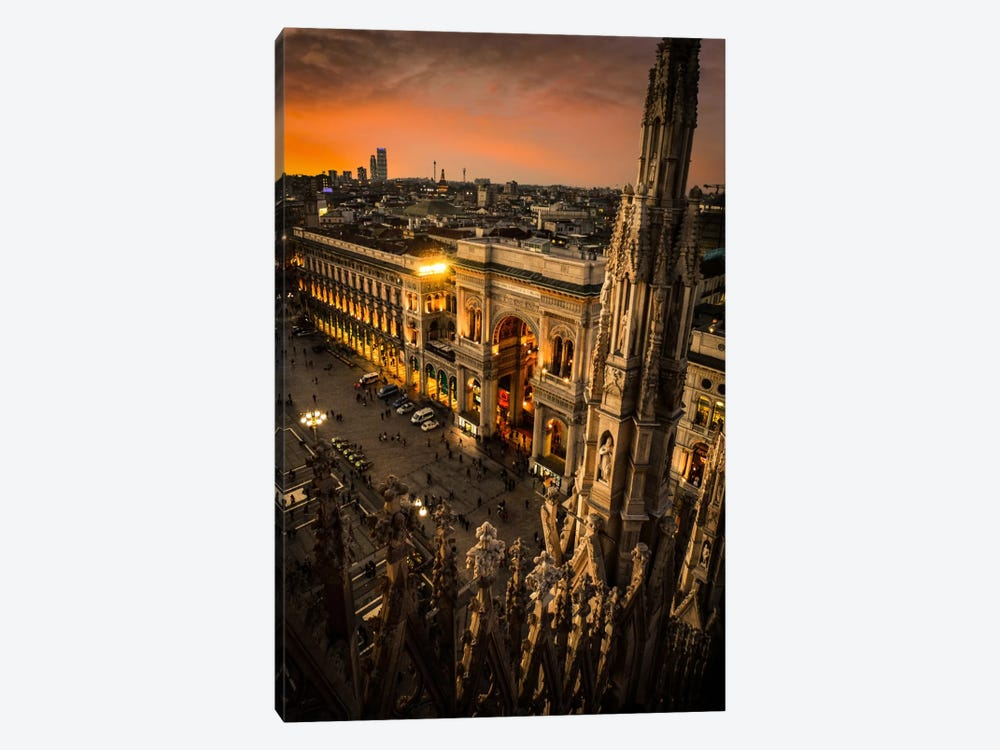 Milano I by Enzo Romano 1-piece Canvas Artwork