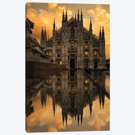 Milano II Canvas Print #ENZ16} by Enzo Romano Canvas Artwork