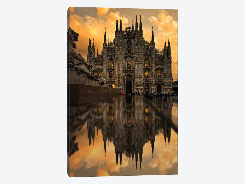 Milano II by Enzo Romano 1-piece Canvas Art Print