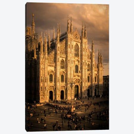 Milano Duomo I Canvas Print #ENZ17} by Enzo Romano Canvas Artwork
