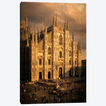 Milano Duomo I Canvas Print #ENZ17} by Enzo Romano Canvas Artwork