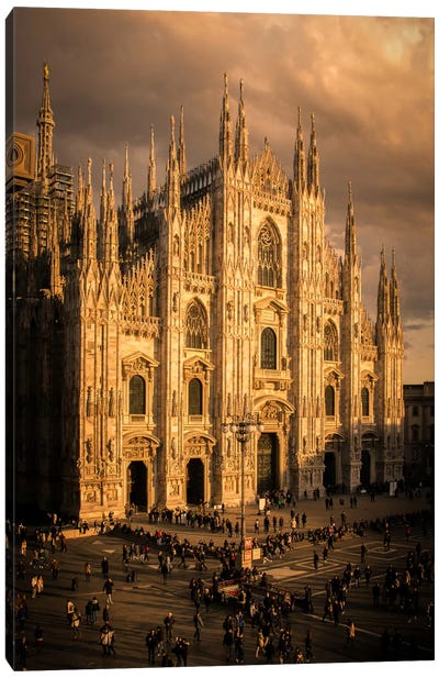 Milano Duomo I Canvas Art Print