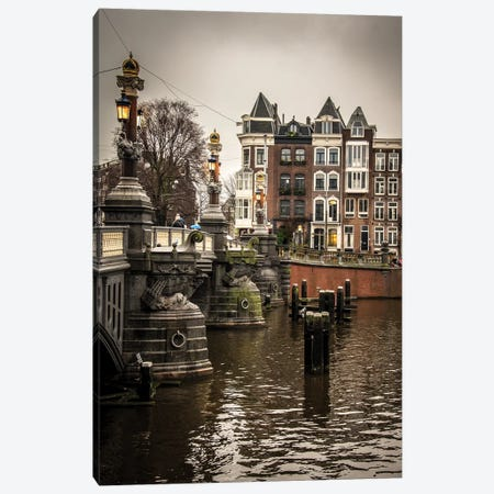 Amsterdam I Canvas Print #ENZ1} by Enzo Romano Canvas Art