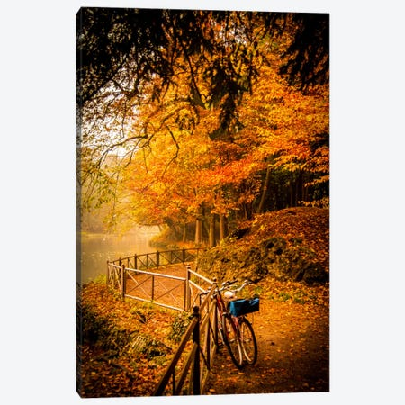 Parco di Monza (Monza Park), Northern Italy Canvas Print #ENZ20} by Enzo Romano Canvas Artwork
