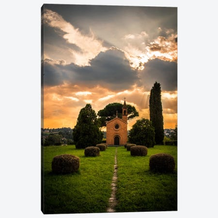 Tenuta di Pomelasca Canvas Print #ENZ21} by Enzo Romano Canvas Art