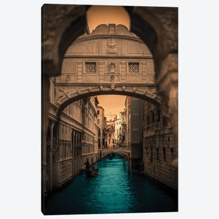 Ponte dei Sospiri, Venice Canvas Print #ENZ22} by Enzo Romano Canvas Wall Art