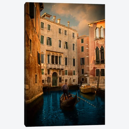 Secret Spot Canvas Print #ENZ24} by Enzo Romano Art Print
