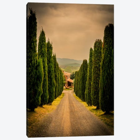 Val d'Orcia, Tuscany Canvas Print #ENZ27} by Enzo Romano Canvas Art Print