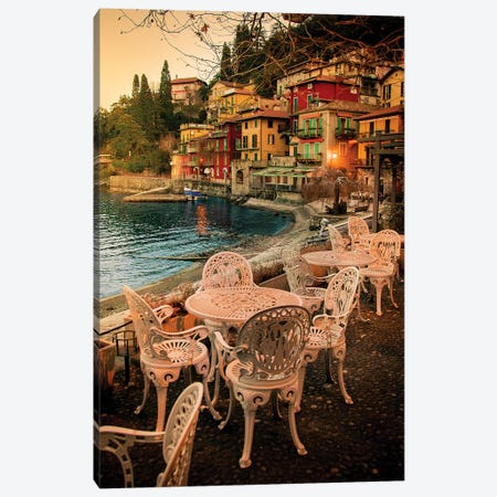 Varenna, Italy I Canvas Print #ENZ28} by Enzo Romano Canvas Artwork
