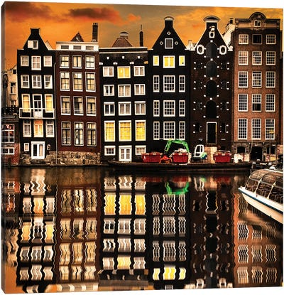Amsterdam II Canvas Art Print