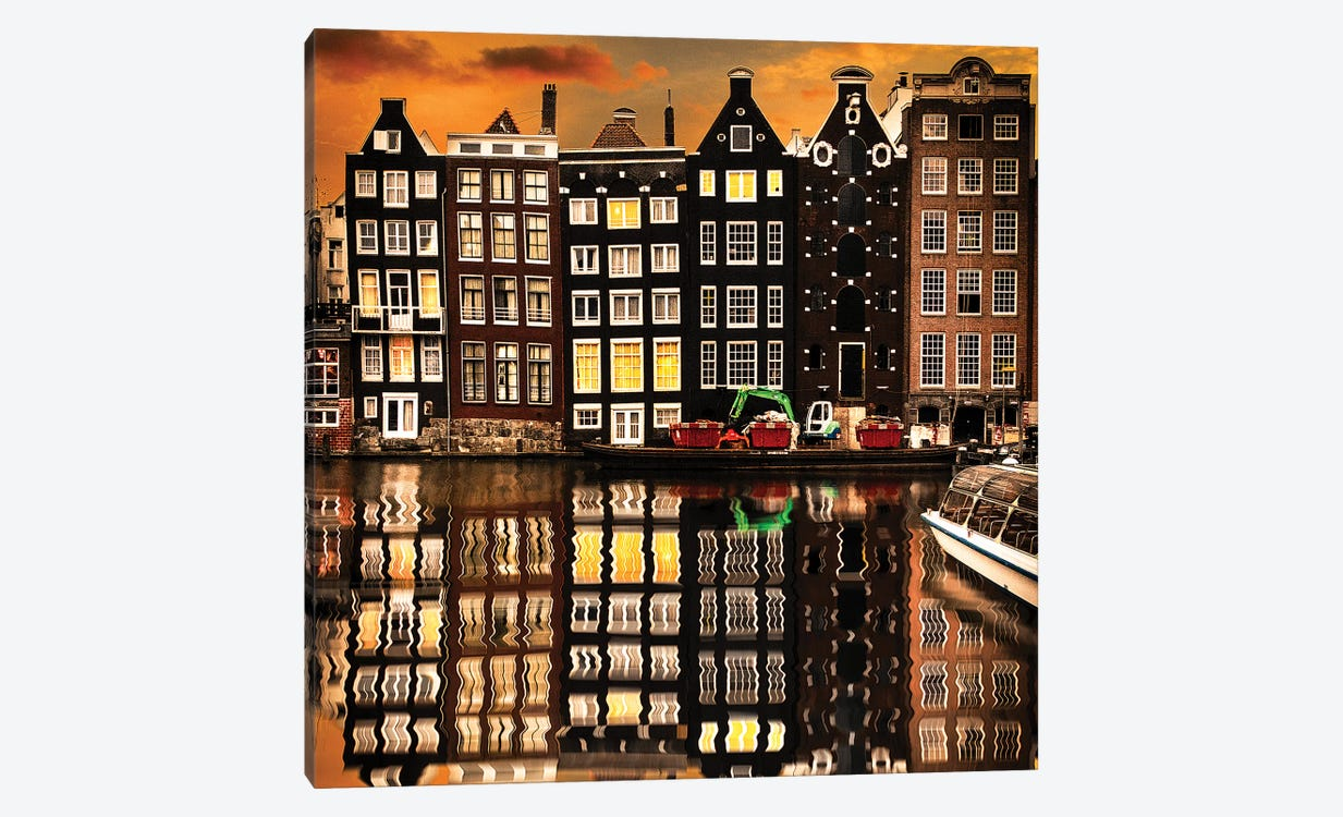 Amsterdam II by Enzo Romano 1-piece Canvas Art