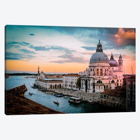 Venice II Canvas Print #ENZ31} by Enzo Romano Canvas Art Print