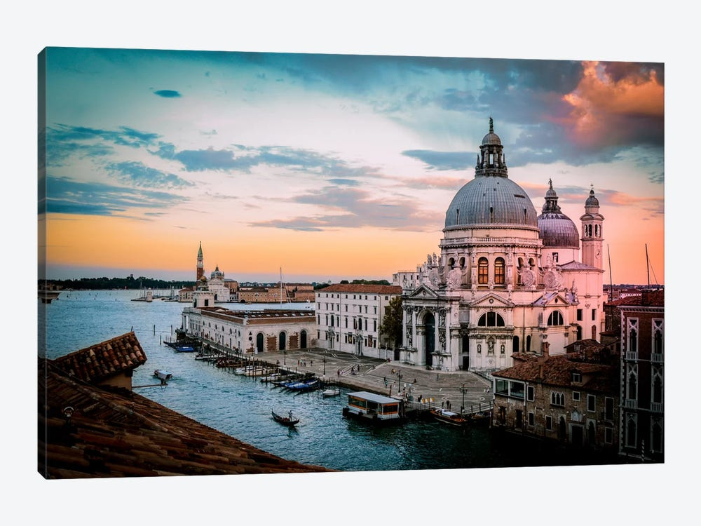 Venice II by Enzo Romano 1-piece Canvas Art