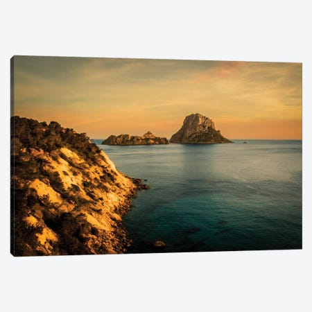 Ibiza II Canvas Print #ENZ36} by Enzo Romano Canvas Wall Art