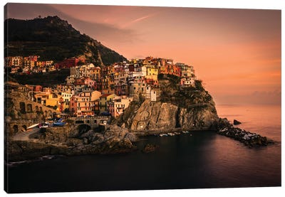 Manarola Canvas Art Print