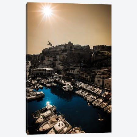 Marseille II 3-Piece Canvas #ENZ38} by Enzo Romano Canvas Print