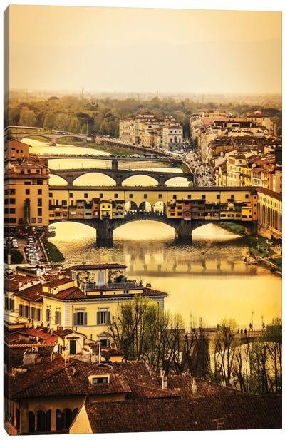 Ponte Vecchio Firenze Canvas Art Print