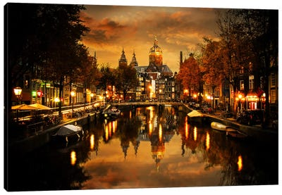 Amsterdam IV Canvas Art Print