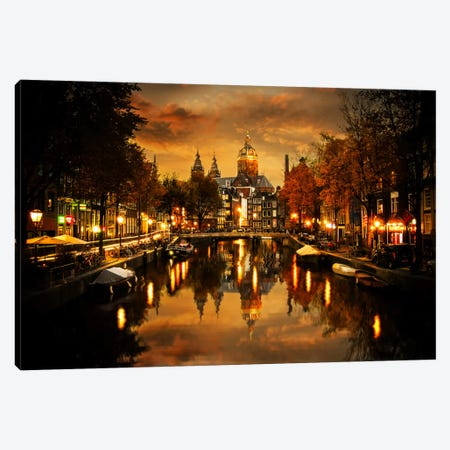 Amsterdam IV 3-Piece Canvas #ENZ4} by Enzo Romano Canvas Art Print