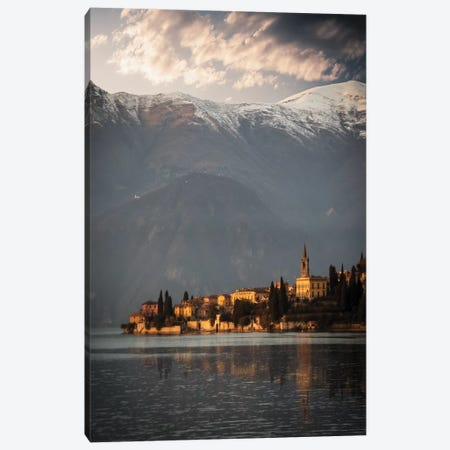 Varenna Other Side Canvas Print #ENZ50} by Enzo Romano Canvas Print