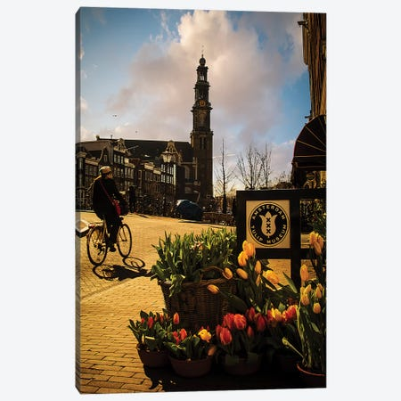 Amsterdam V Canvas Print #ENZ52} by Enzo Romano Canvas Print