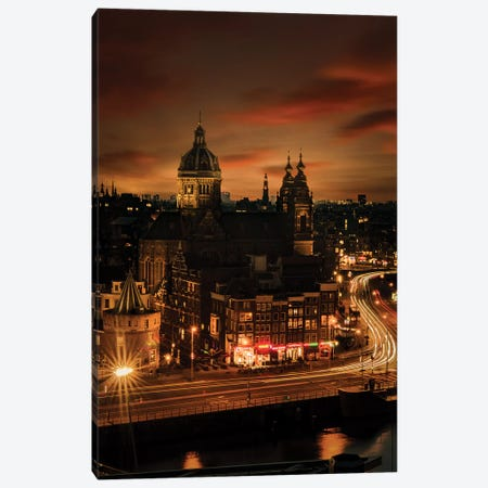 Amsterdam, 10 sec. Canvas Print #ENZ58} by Enzo Romano Canvas Art Print