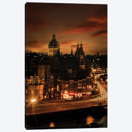 Amsterdam, 10 sec. 3-Piece Canvas #ENZ58} by Enzo Romano Canvas Art Print