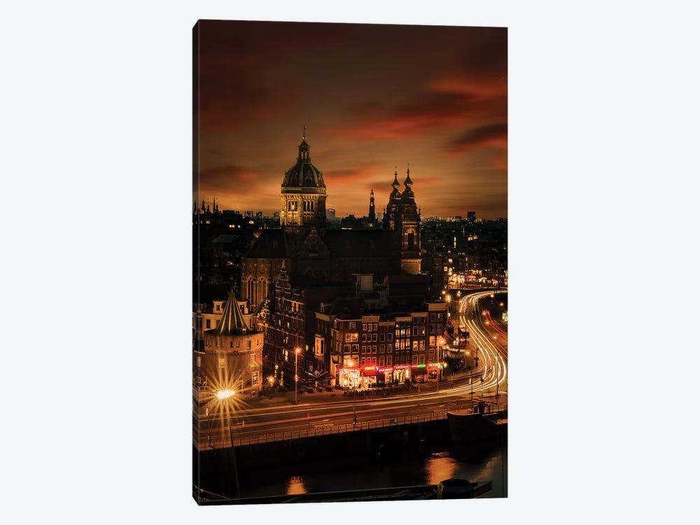 Amsterdam, 10 sec. by Enzo Romano 1-piece Canvas Print