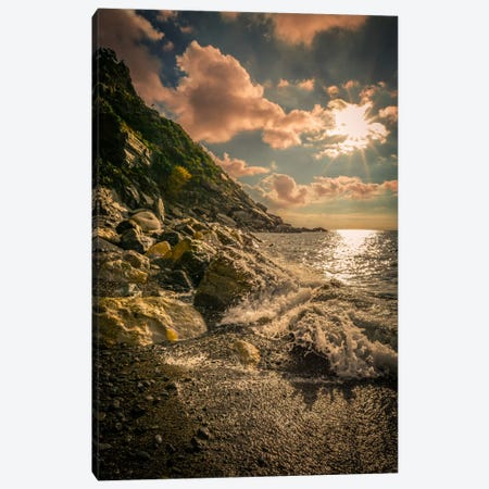 Cinque Terre, Italy Canvas Print #ENZ5} by Enzo Romano Canvas Art Print