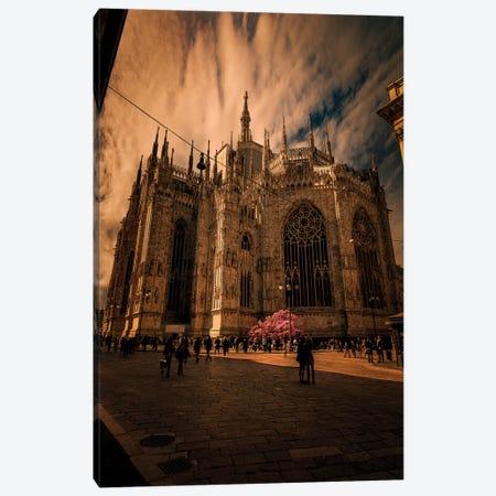 Duomo Milano, Spring Canvas Print #ENZ62} by Enzo Romano Canvas Wall Art