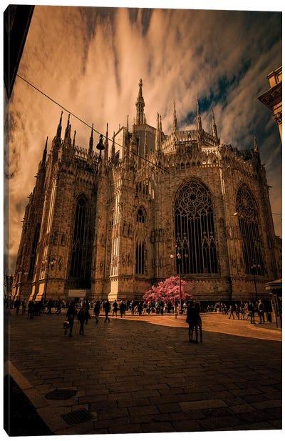 Duomo Milano, Spring Canvas Art Print