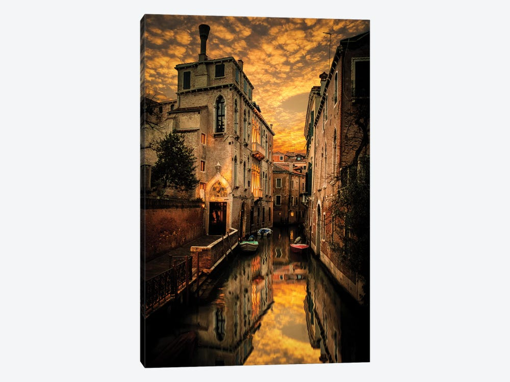 Venice Canals 1-piece Canvas Art