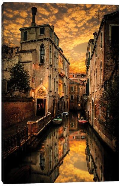 Venice Canals Canvas Art Print