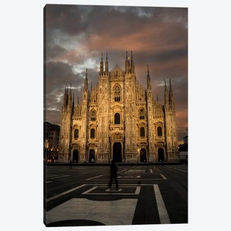 Milano Duomo III Canvas Print #ENZ65} by Enzo Romano Canvas Print