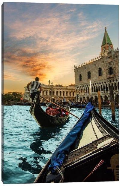 Gondola Ride Canvas Art Print