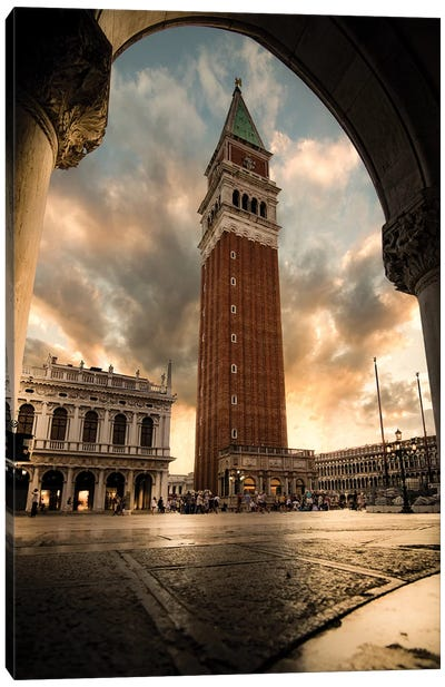 San Marco Frames Canvas Art Print
