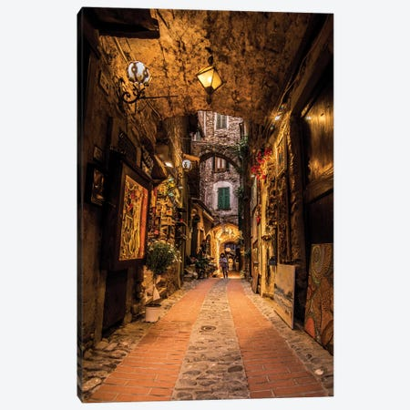 Dolceacqua Liguria Canvas Print #ENZ79} by Enzo Romano Canvas Print