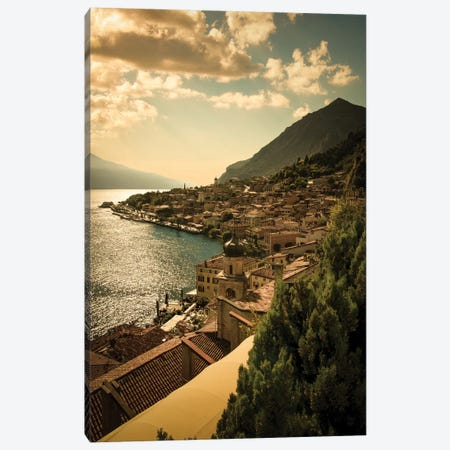Limone sul Garda Canvas Print #ENZ81} by Enzo Romano Canvas Artwork
