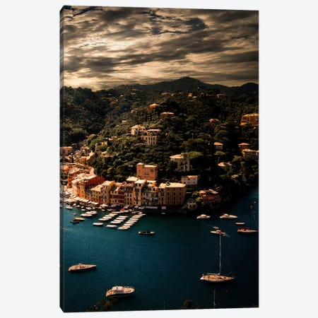 Portofino  3-Piece Canvas #ENZ84} by Enzo Romano Art Print