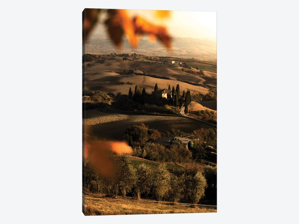 Val d'Orcia by Enzo Romano 1-piece Canvas Art Print